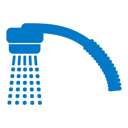 Running water icon. Simple illustration of running water vector icon for web