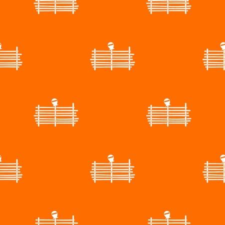 Palisade pattern seamless