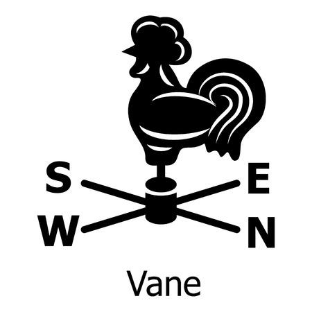 Vane icon. Simple illustration of vane vector icon for web