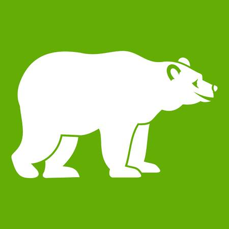 Bear icon green