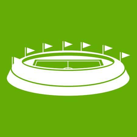 Stadium icon green