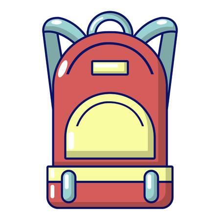 Haversack icon. Cartoon illustration of haversack vector icon for web