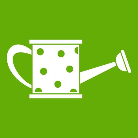 Watering can icon green