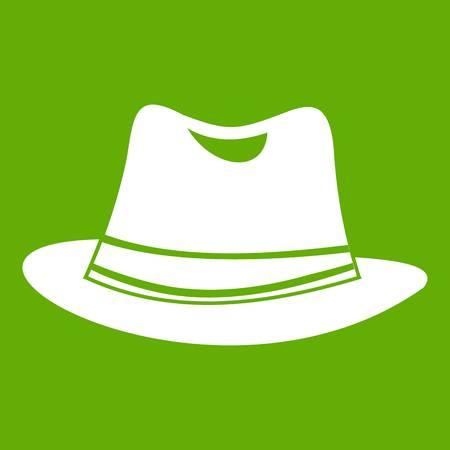 Hat icon green
