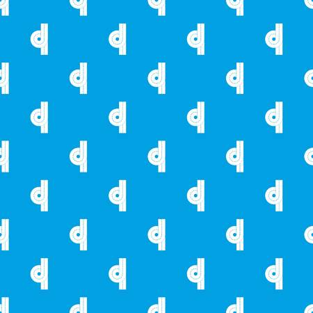 Road junction pattern seamless blue