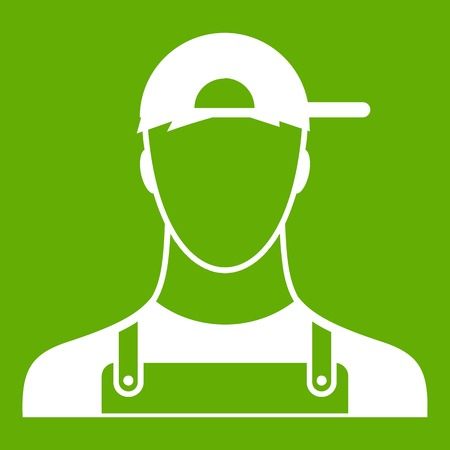Plumber icon green