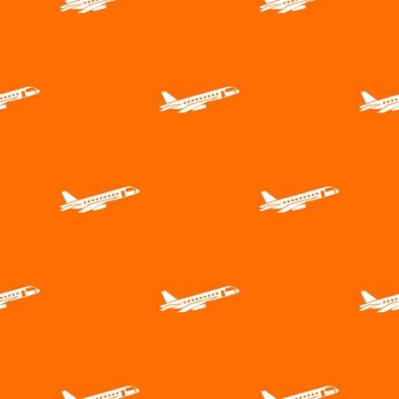 Airplane taking off pattern seamless Illustration