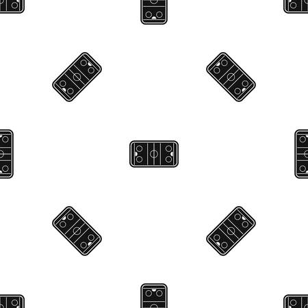 Stadium pattern seamless black Vectores