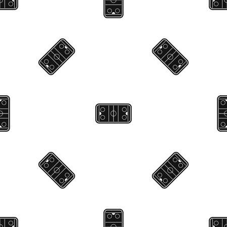 Stadium pattern seamless black Illustration