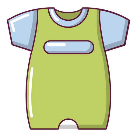 Children slider icon, cartoon style
