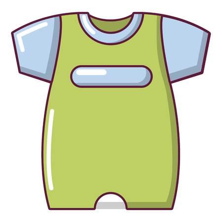 Children slider icon, cartoon style