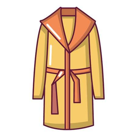 Bathrobe icon. Cartoon illustration of bathrobe vector icon for web