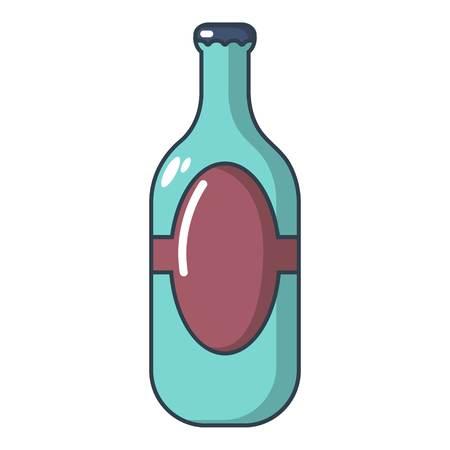 Vodka icon. Cartoon illustration of vodka vector icon for web Illustration