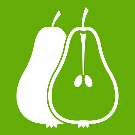 Pear icon green