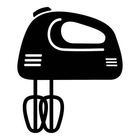 Mixer kitchen icon. Simple illustration of mixer kitchen vector icon for web