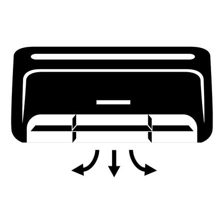 コンディショナー アイコン。ウェブ用コンディショナーベクトルアイコンの簡単なイラスト