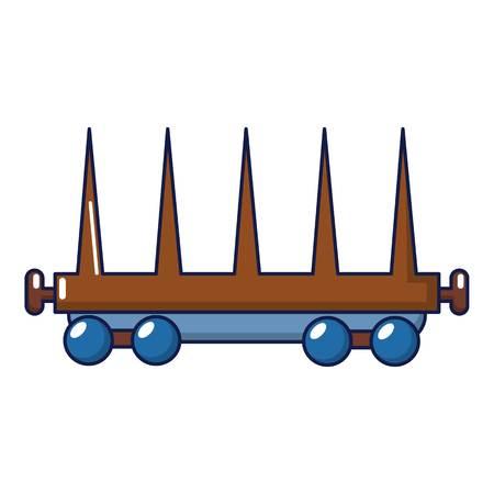 Lieferwagenikone, Karikaturart Standard-Bild - 90915535