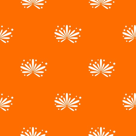 Fireworks pattern seamless Illustration
