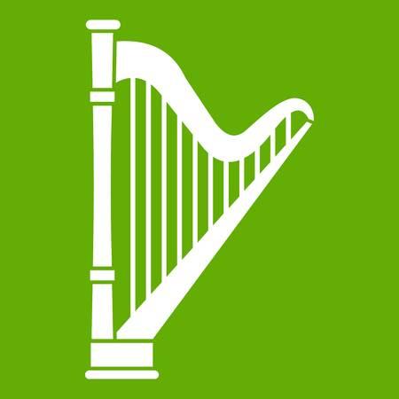 Harp icon green