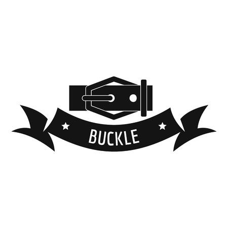 Buckle modern logo. Simple illustration of buckle modern vector logo for web Illustration