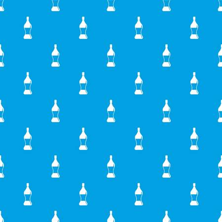 Soda water pattern repeat seamless in blue color for any design. Vector geometric illustration 向量圖像