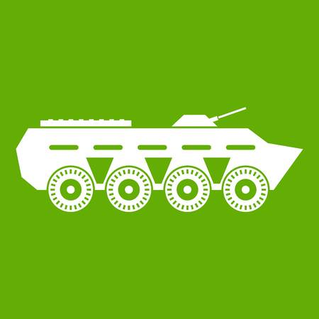 Army battle tank icon