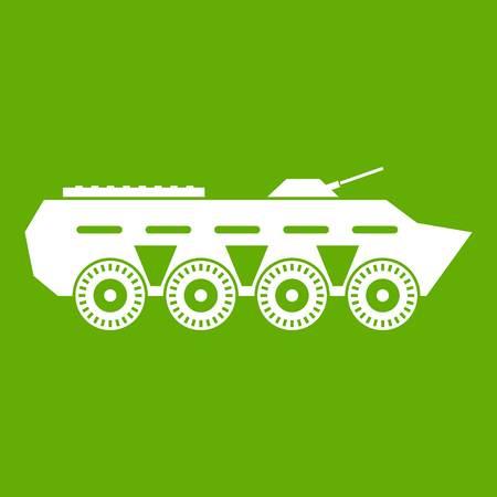 Army battle tank icon