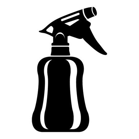 Perfume icon, simple style Illustration