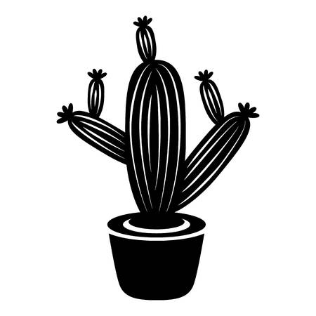 Cactus icon. Simple illustration of cactus vector icon for web