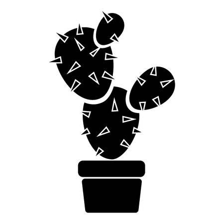 Desert cactus icon, simple style