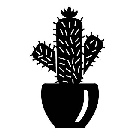 Needle cactus icon. Simple illustration of needle cactus vector icon for web