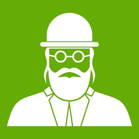 Orthodox icon green