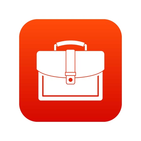 Business briefcase icon.