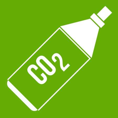 CO2 bottle icon.