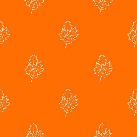 Leaves pattern seamless Illustration