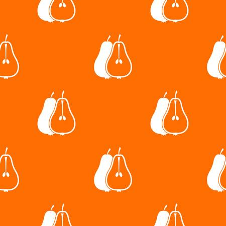 Pear pattern seamless  イラスト・ベクター素材