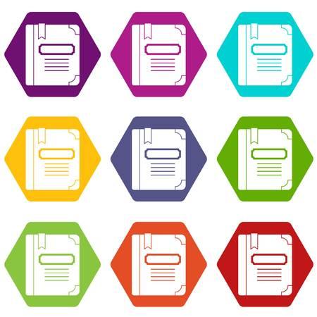 Tutorial with bookmark icon. Ilustração