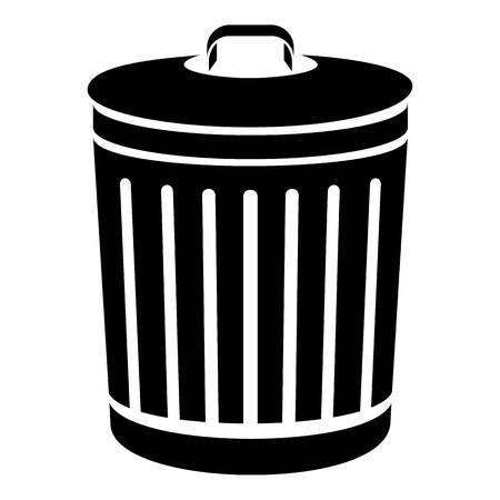 Bucket with cap icon.