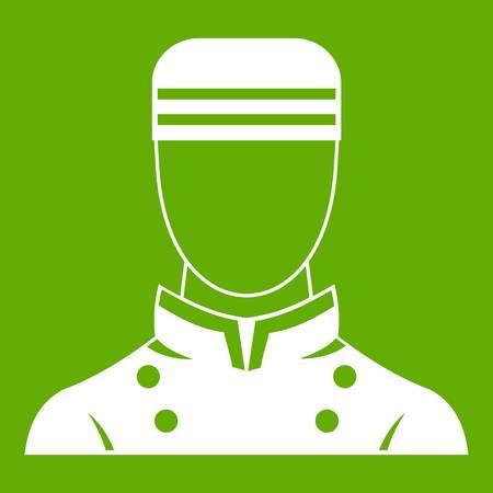 Icône de portier vert
