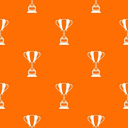 Trophy cup pattern seamless