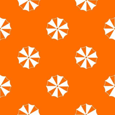 Striped umbrella pattern seamless