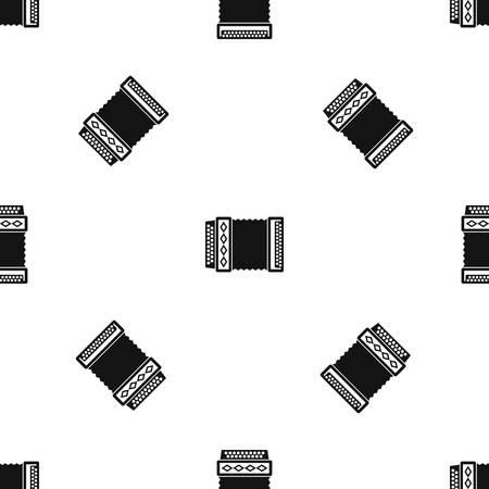 Accordion pattern design.