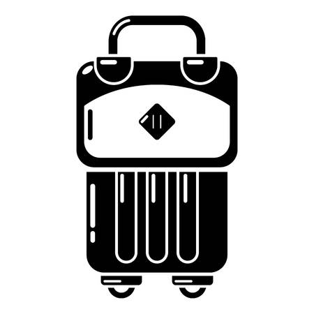 Bag design icon. Simple illustration of bag design vector icon for web