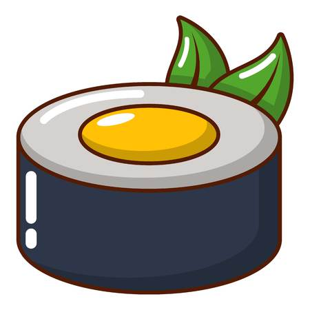 Sushi concept icon. Cartoon illustration of sushi concept vector icon for web