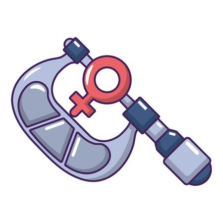 Caliper icon. Cartoon illustration of caliper vector icon for web.