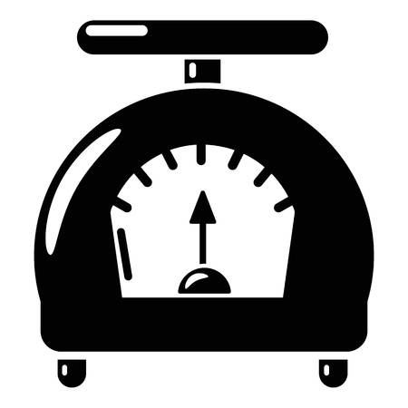 Scale icon. Simple illustration of scale vector icon for web. Illustration