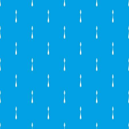 Scraper seamless pattern  in blue Иллюстрация