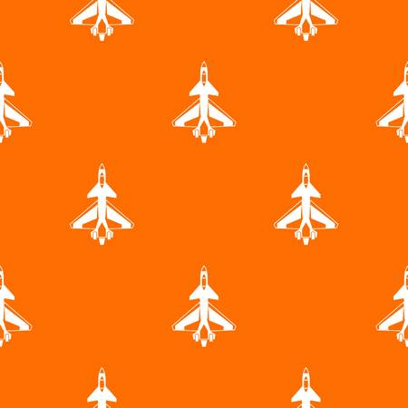 Military fighter jet seamless pattern