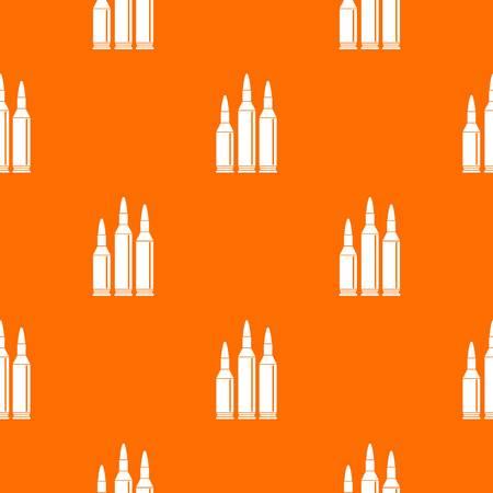 Bullet ammunition seamless pattern