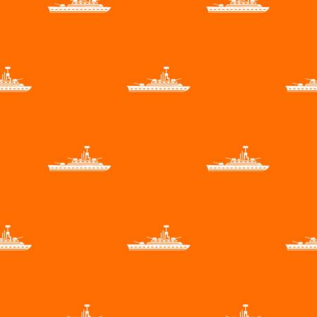 Military warship pattern seamless